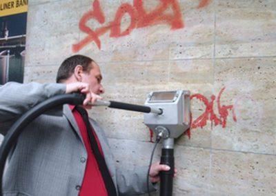 Odstranění graffiti z kamene 006