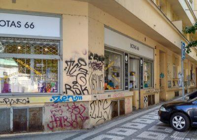 Odstranění graffiti z výloh 008
