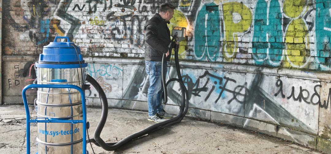 Technologie odstranění graffiti